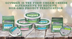 GO VEGGIE® IS THE FIRST CREAM CHEESE ALTERNATIVE TO RECEIVE  NON-GMO PROJECT VERIFICATION - Post Image