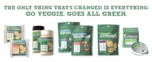 THE ONLY THING THAT'S CHANGED IS EVERYTHING: GO VEGGIE® BRAND GOES ALL GREEN - Post Image