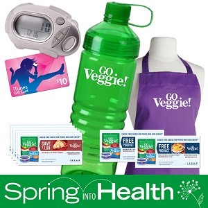 Create your Healthy Living #GOVeggieSpringBoard on Pinterest for chances to win! - Post Image