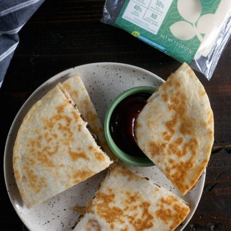 Barbecue Black Bean Quesadilla