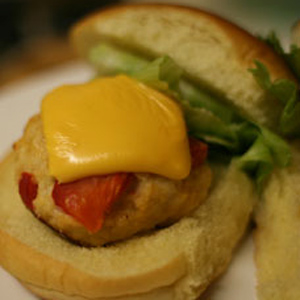 Chicken and Roasted Red Pepper Sliders