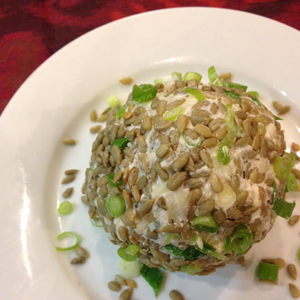 Chive & Garlic Cheese Ball