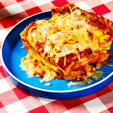 Nana's Four Cheese Lasagna