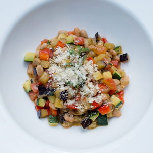 Ratatouille with White Beans