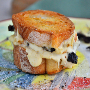 Sundried Tomato Grilled Cheese