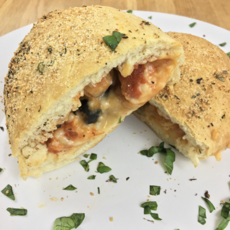 Dairy Free Pizza Pockets