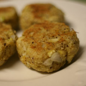 Maryland Style Crab Cakes with GO Veggie! Lactose Free Mozzarella Shreds