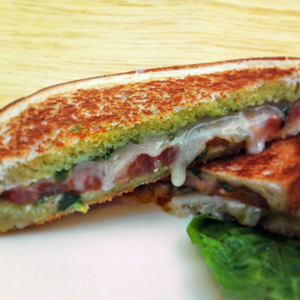 Caprese Style Grilled Cheese