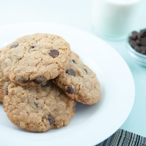 Cream Cheese Chocolate Chip Cookies (gluten-free)
