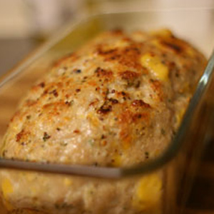GO Veggie! Lactose Free Cheddar Block and Chive Turkey Meatloaf